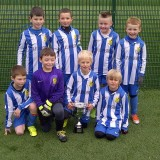 U8 Eagles win Minisoccer Group A